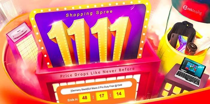 ofertas del 1111 de geekbuying