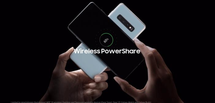 compartir batería con el Samsung Galaxy S10