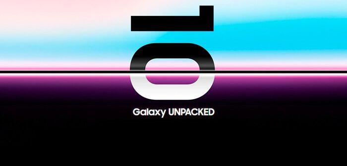 la presentación del Samsung Galaxy S10