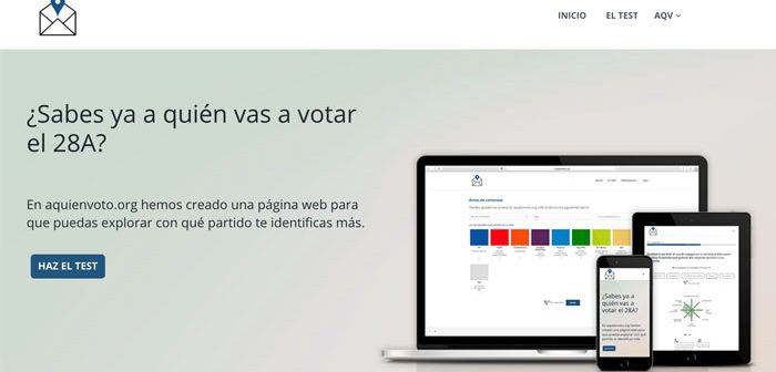 test a quien votar el 28a