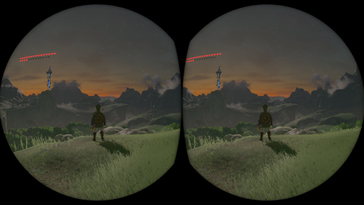 modo VR de The Legend of Zelda