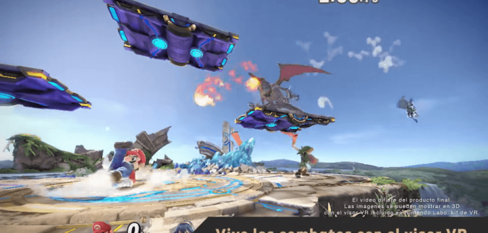 Super Smash Bros. Ultimate en VR