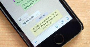 El código de seguridad de WhatsApp cambió