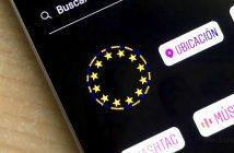elecciones europeas en instagram