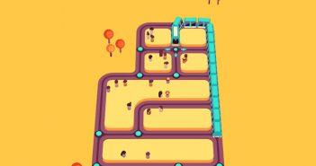 Train Taxi, el juego gratuito que reinventa el mítico Snake