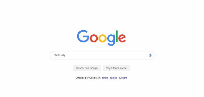 corrector mejorado de Google Chrome