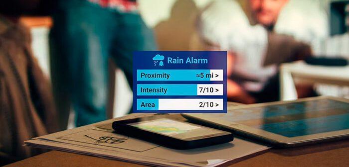 descargar rain alarm