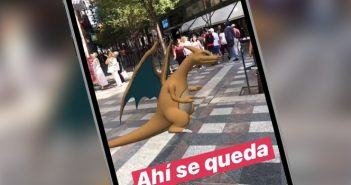 filtro de charizard instagram stories
