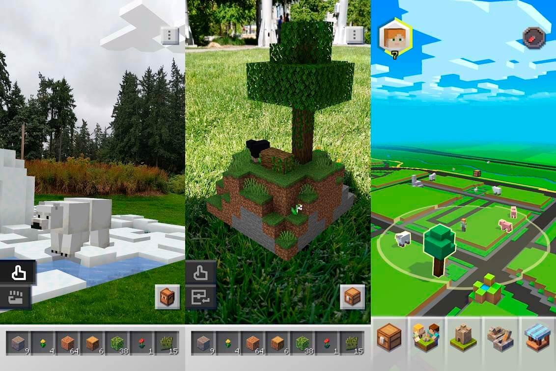 descargar el APK de Minecraft Earth