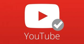 insignia de verificación youtube