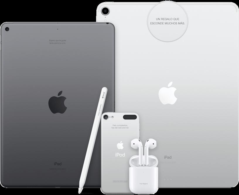 apple grabado nombre láser