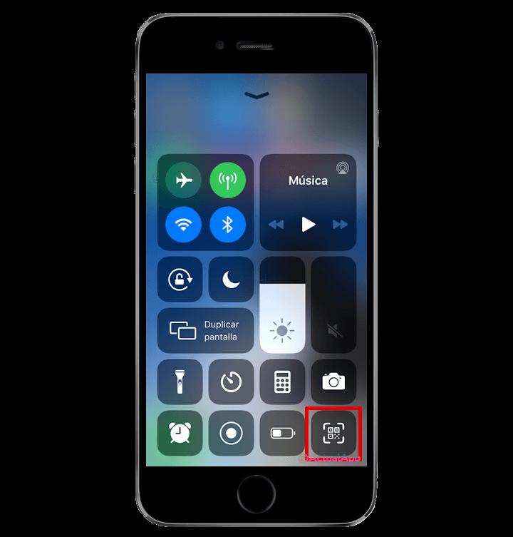 códigos qr en iphone