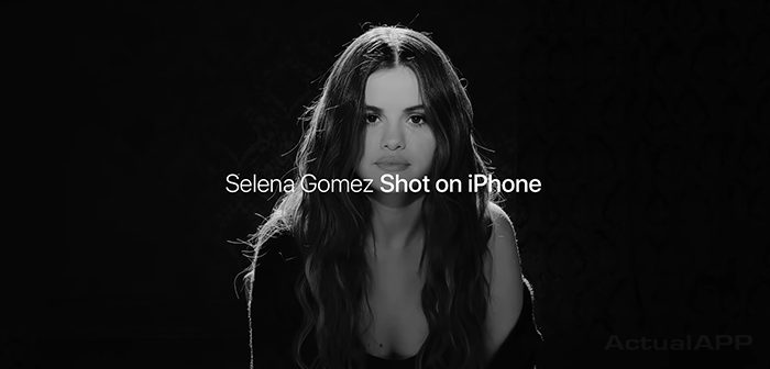videoclip selena gomez iphone