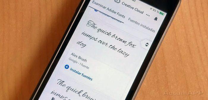 descargar tipografías en iphone