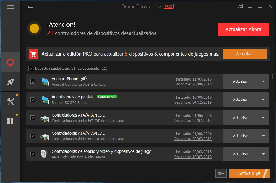 descargar drivers driver booster