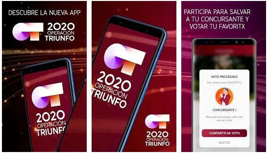 descargar app ot 2020 operación triunfo