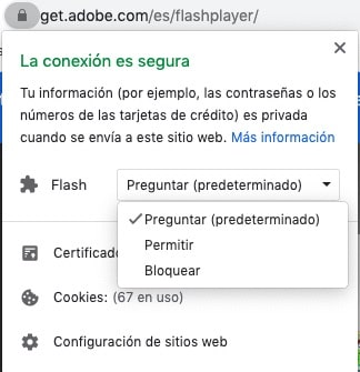 habilitar flash en google chrome 2