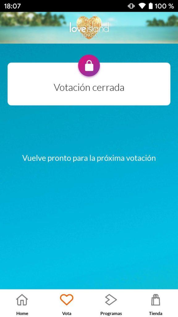love island app votar