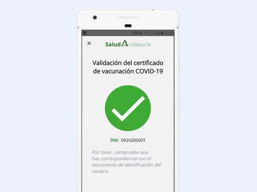 salud andalucia cita certificado covid