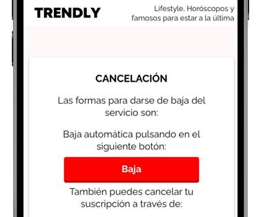 trendly web baja