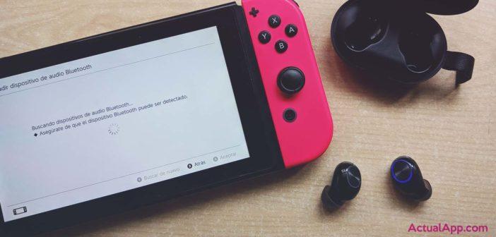 Cómo vincular tus auriculares Bluetooth con la Nintendo Switch (sin accesorios)